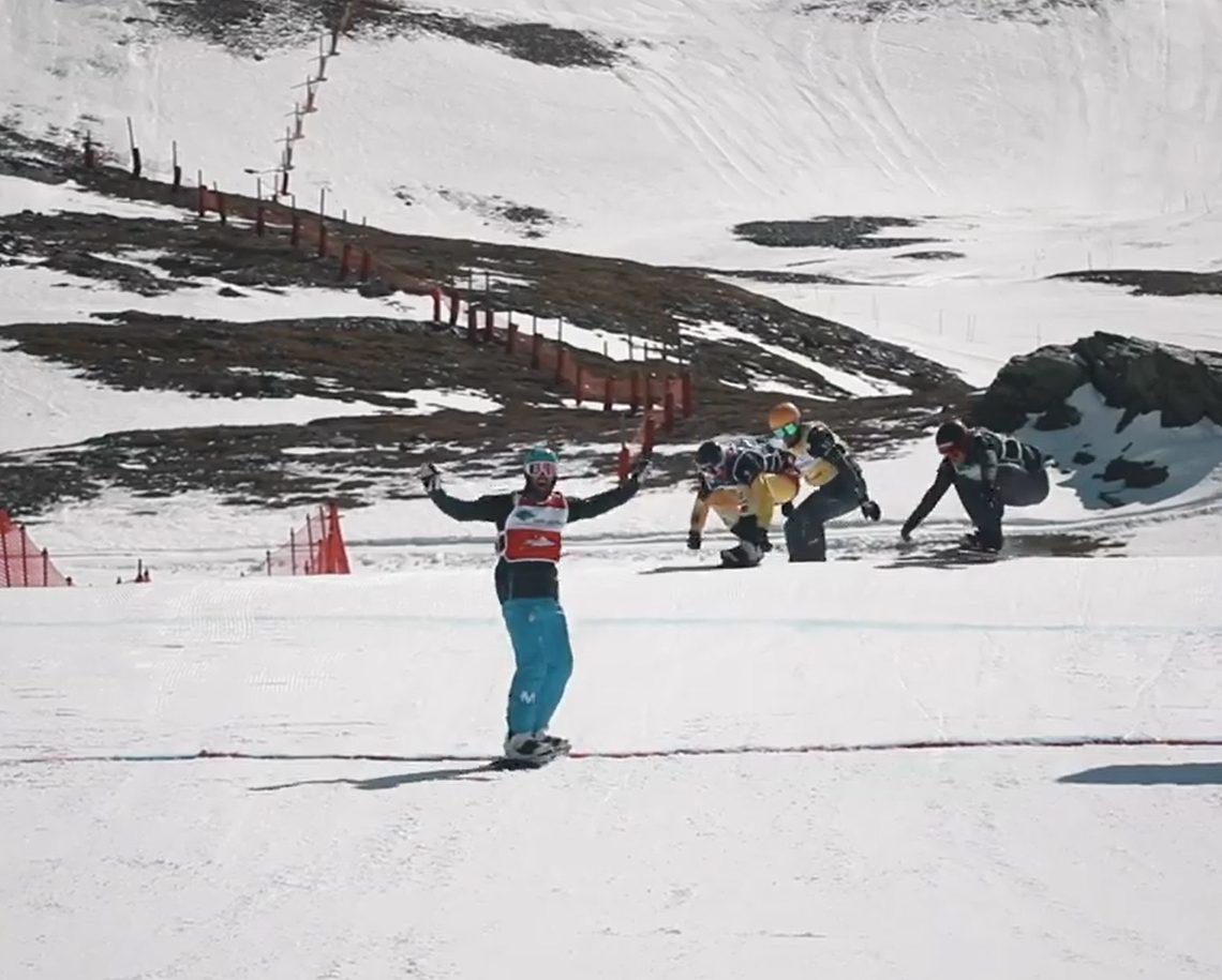 Lucas Eguibar oro en la Copa del Mundo SBX Sierra nevada 2020