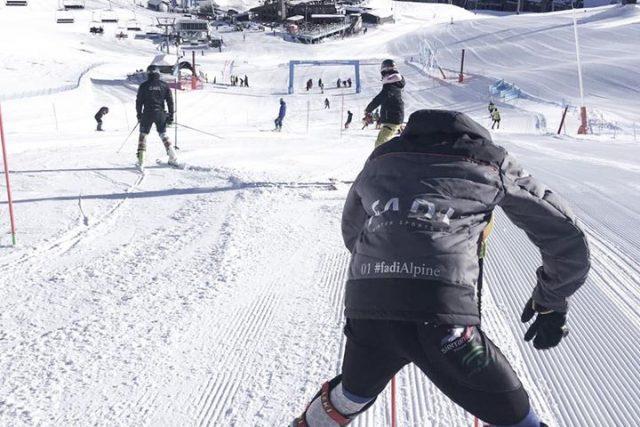 El Esquí Alpino, la principal modalidad en la FADI