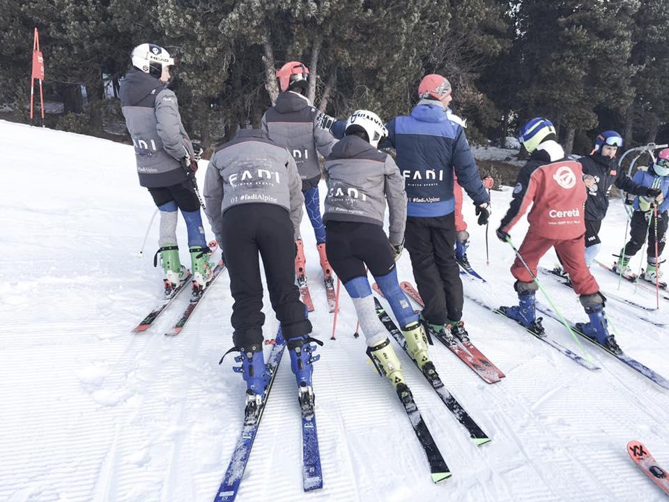 Buenos resultados del CETDI SN Alpino en el Trofeo Francesc Villadomat