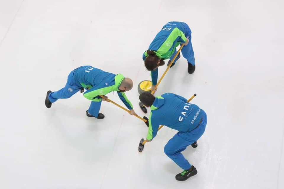 Los Compadres disputan el Campeonato de España de Curling