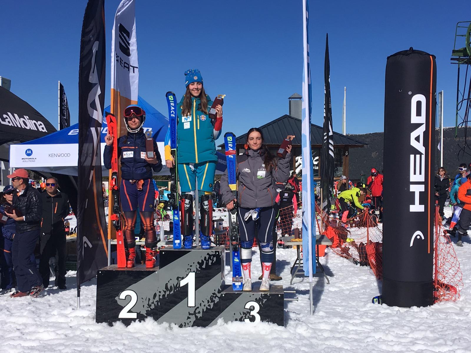 Buenos resultados del CETDI SN Alpino en La Molina