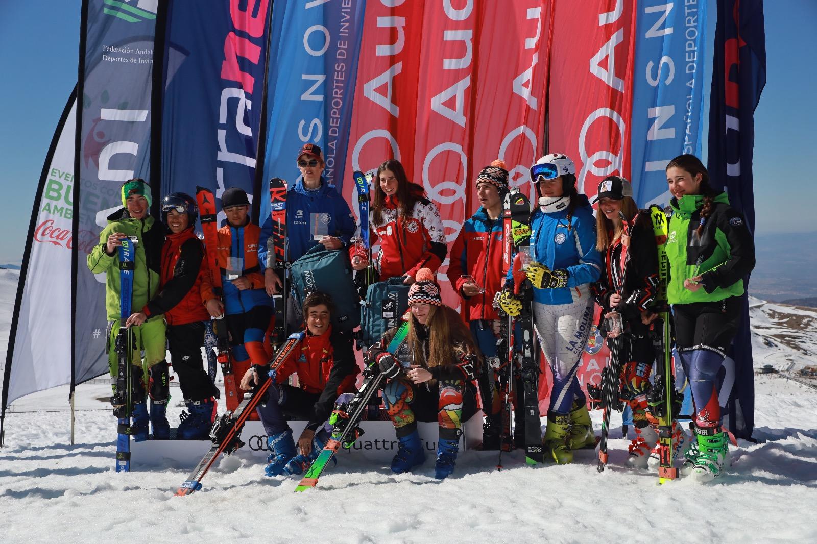2 Fase Copa de España E. Alpino U14-U16 vuelve a Sierra nevada