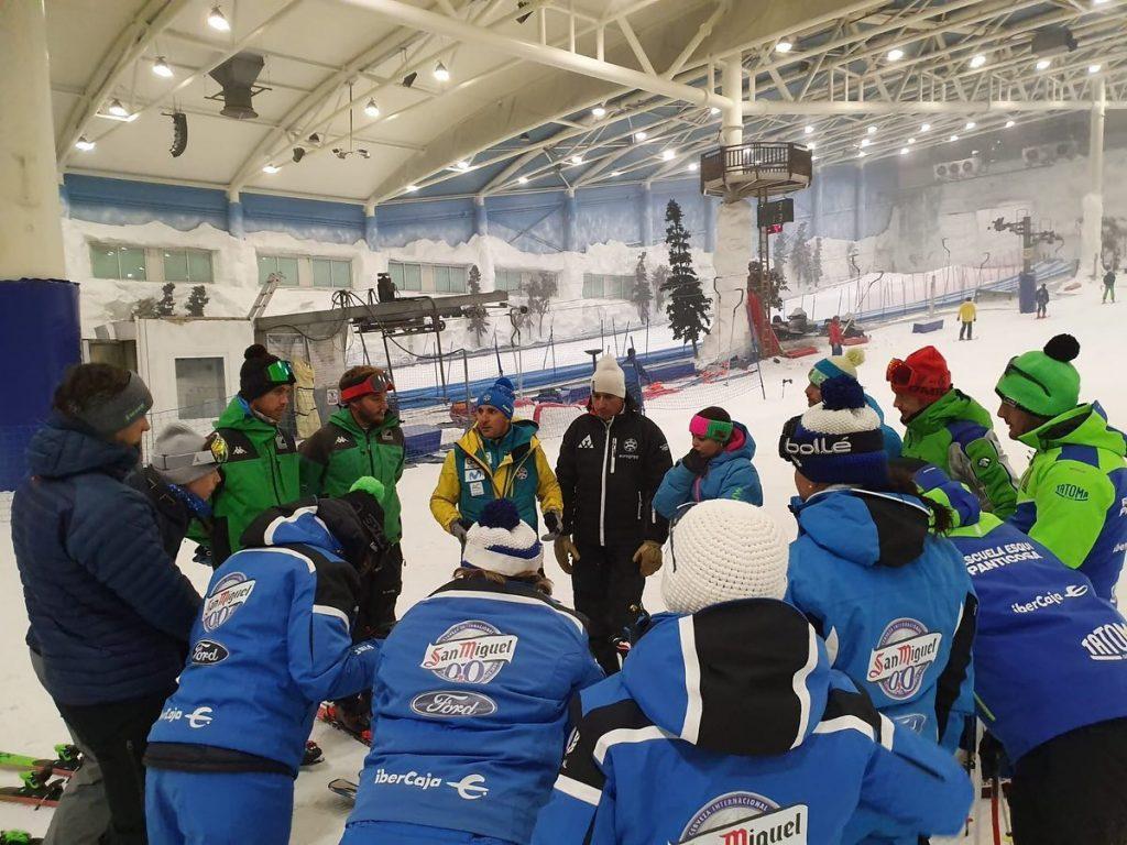Inscripciones abiertas para el Curso de Actualización y reciclaje de la EEE Escuela Española de Esquí para técnicos de #esquialpino, #esquidefondo y #snowboard