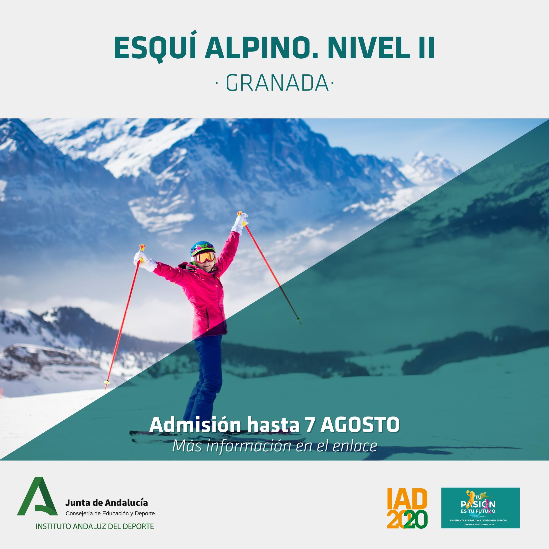 Continúa tu formación en Esquí Alpino con el Curso de Técnico Deportivo Nivel II