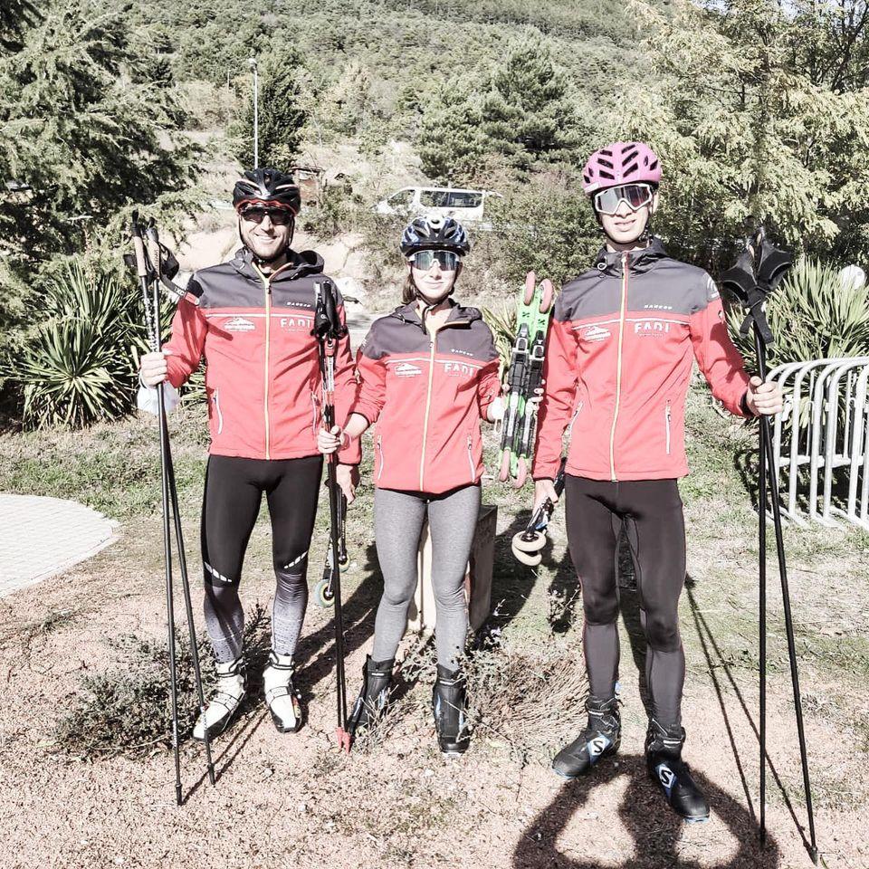 Gran jornada para el Rollerski andaluz