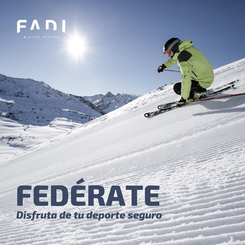 Fedérate!! Disfruta de tu deporte seguro