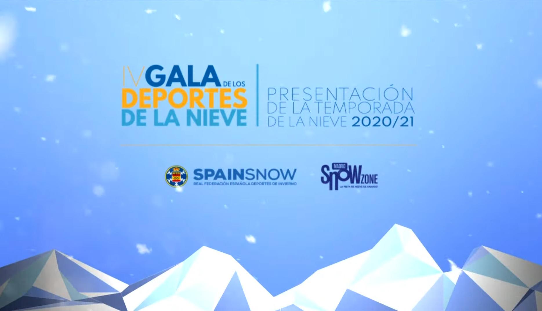 IV Gala de los Deportes de Nieve