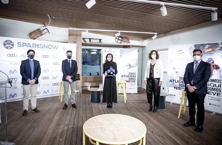 Hoy se celebraba enMadrid SnowZonela IV Gala de los Deportes de Nieve