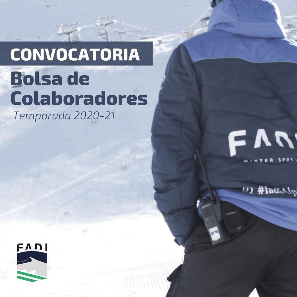 Convocatoria Bolsa de Colaboración FADI 2020-21