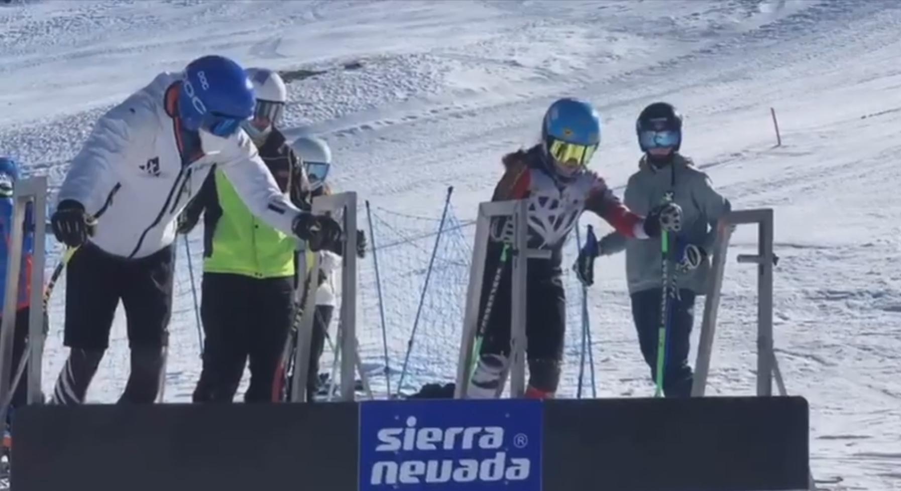 Este fin de semana, tuvieron lugar entrenamientos de los grupos CETDI SX y SBX, en @Sierra Nevada.