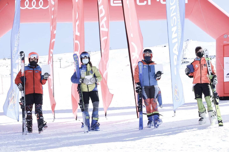 Finaliza con éxito la primera fase de la COPA DE ESPAÑA AUDI DE ESQUÍ ALPINO en Sierra Nevada.