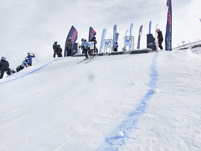 Primera jornada de La Copa de España Movistar de #snowboardcross (SBX) y #skicross (SX).