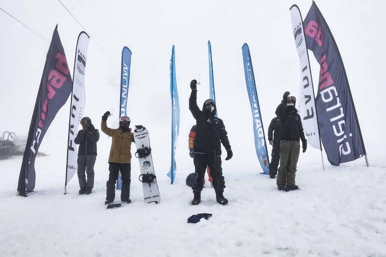 Durante este fin de semana se ha celebrado en Sierra Nevada la primera fase de la Copa de España de Skicross y Boardercross.
