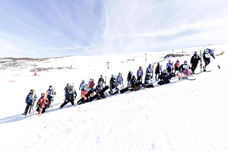 La semana pasada concluían unos días muy bien aprovechados de entrenamiento para los grupos CETDI de Sierra Nevada