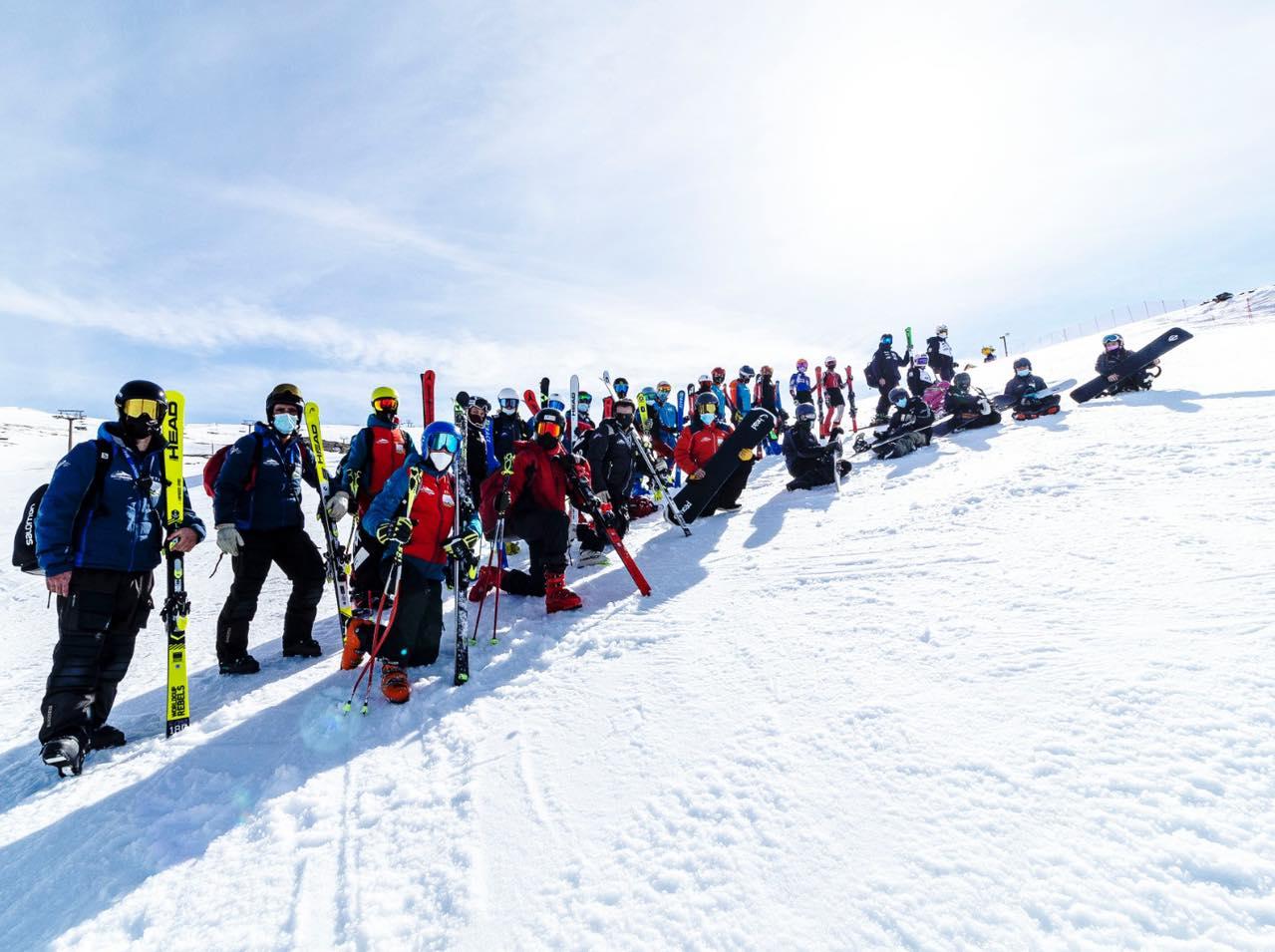 Varias selecciones Andaluzas, de disciplinas de invierno, viajan esta semana