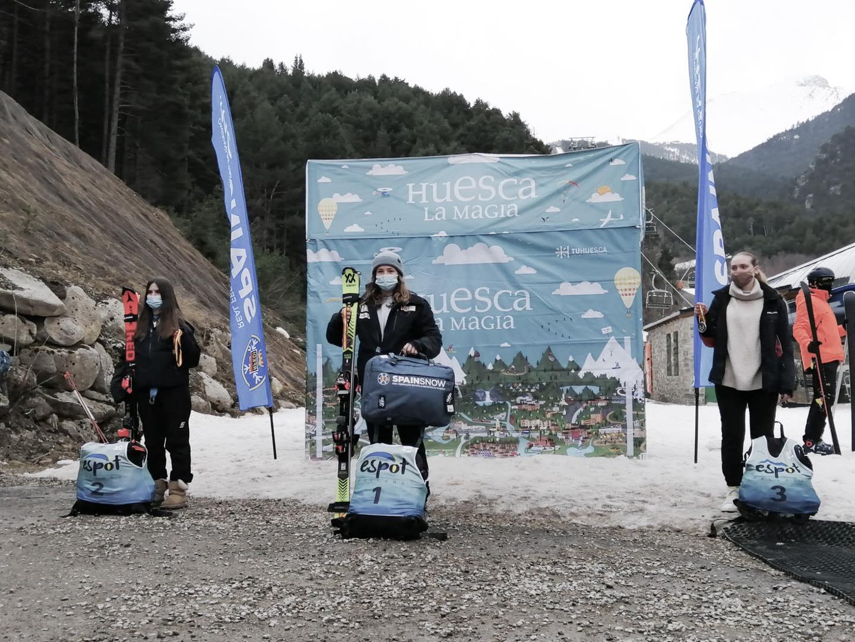 Luna Espín Álvarez y Rafael Díaz Herrera representan a Andalucía en el GRAN PREMIO FADI ARAGON FIS-CIT / Campeonatos de España CIT, en Espot.