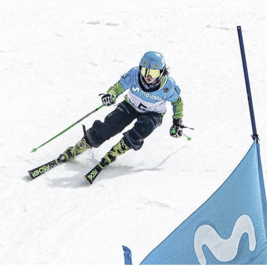 Daniela González Gutiérrez, se proclama Campeona de España de Skicross