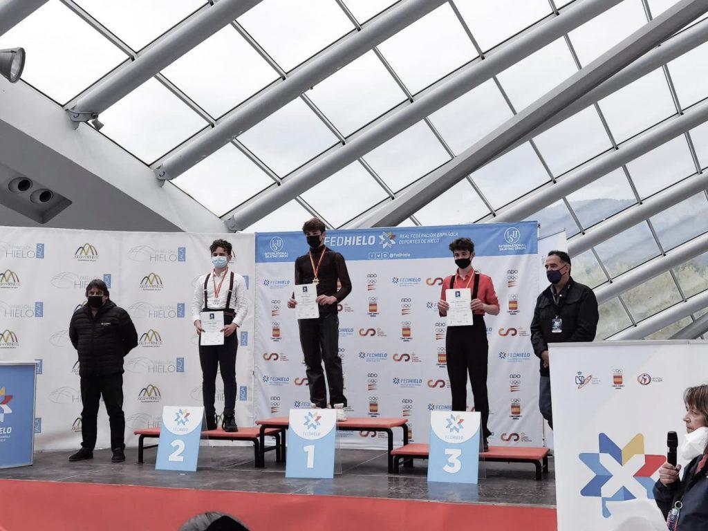Los Campeonatos de España de patinaje artístico se celebraron el pasado fin de semana, en la ciudad de Jaca.