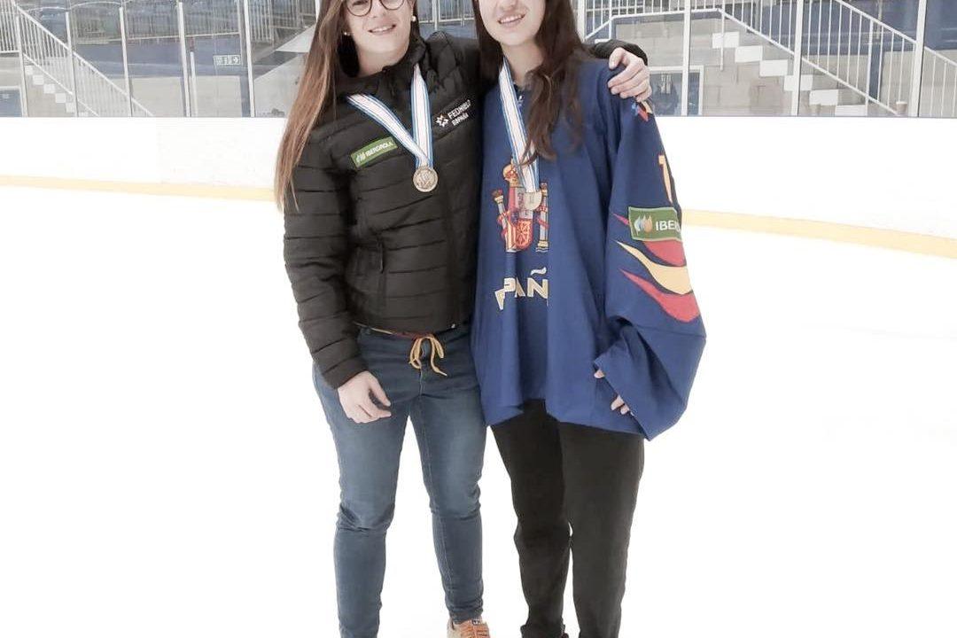 Eulalia de Reyes, convocada como staff técnico de la Selección Española de Hockey Hielo