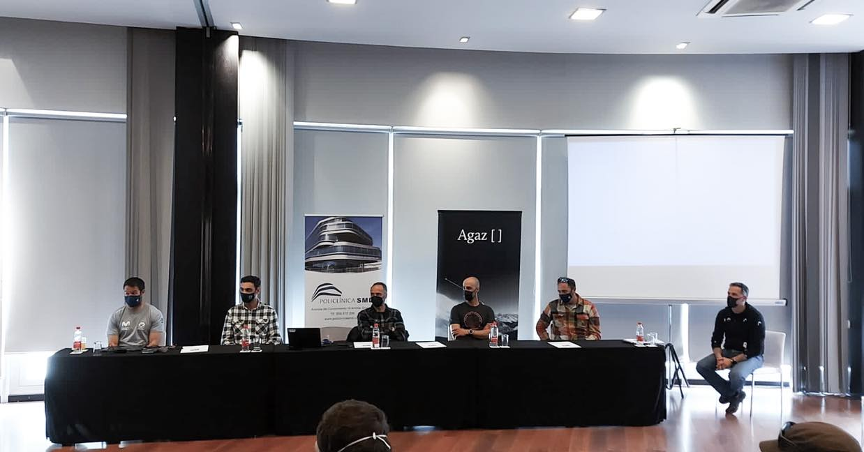 Mesa Redonda con 5 técnicos Andaluces que han colaborado en Equipos Nacionales en Suiza, USA y España.
