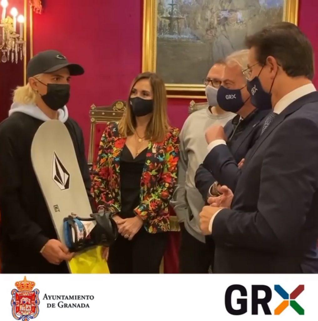 El ayuntamiento destaca los éxitos de Josito Aragón y le anima a buscar una plaza para los juegos olímpicos