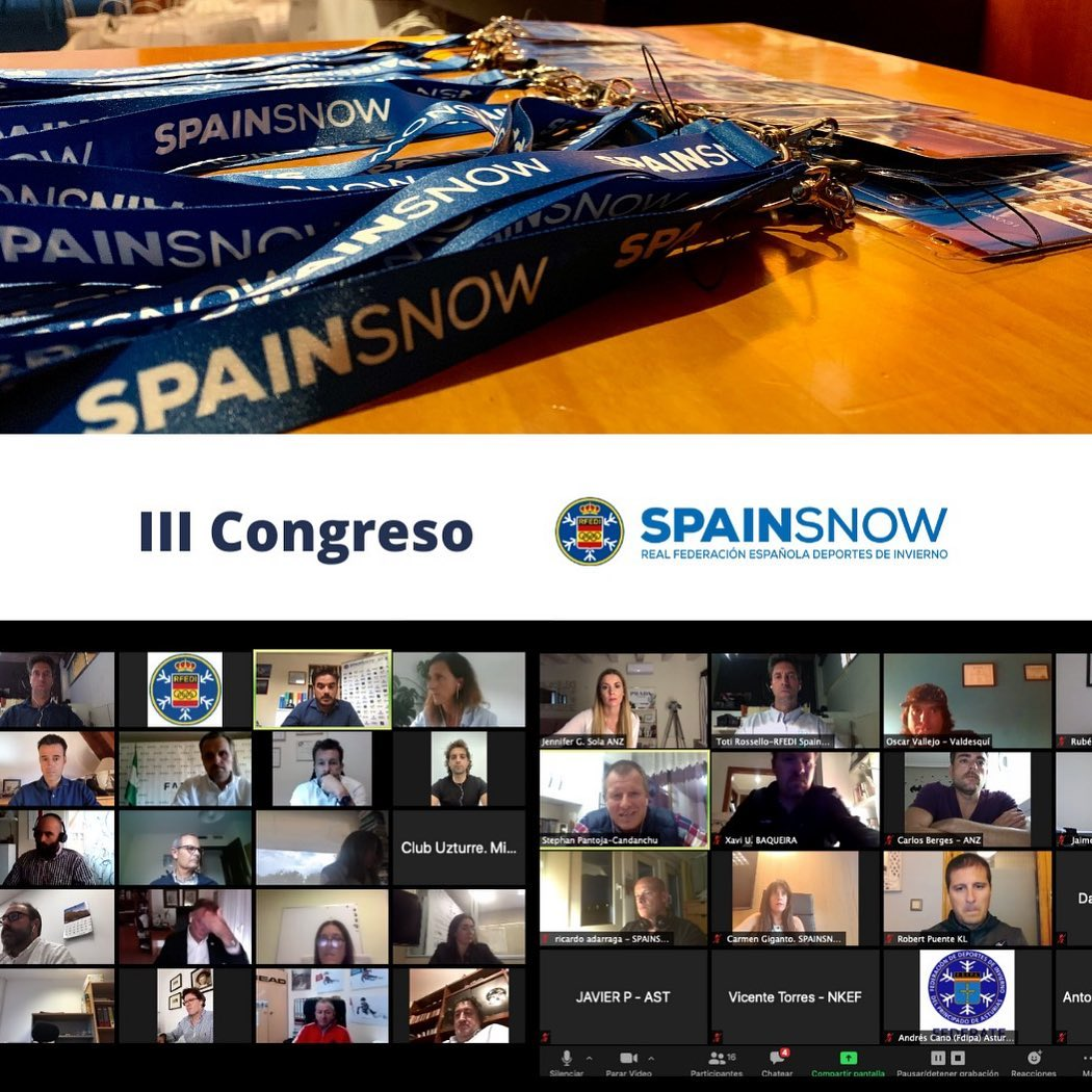 III CONGRESO RFEDI-SPAINSNOW 8-10 JUNIO