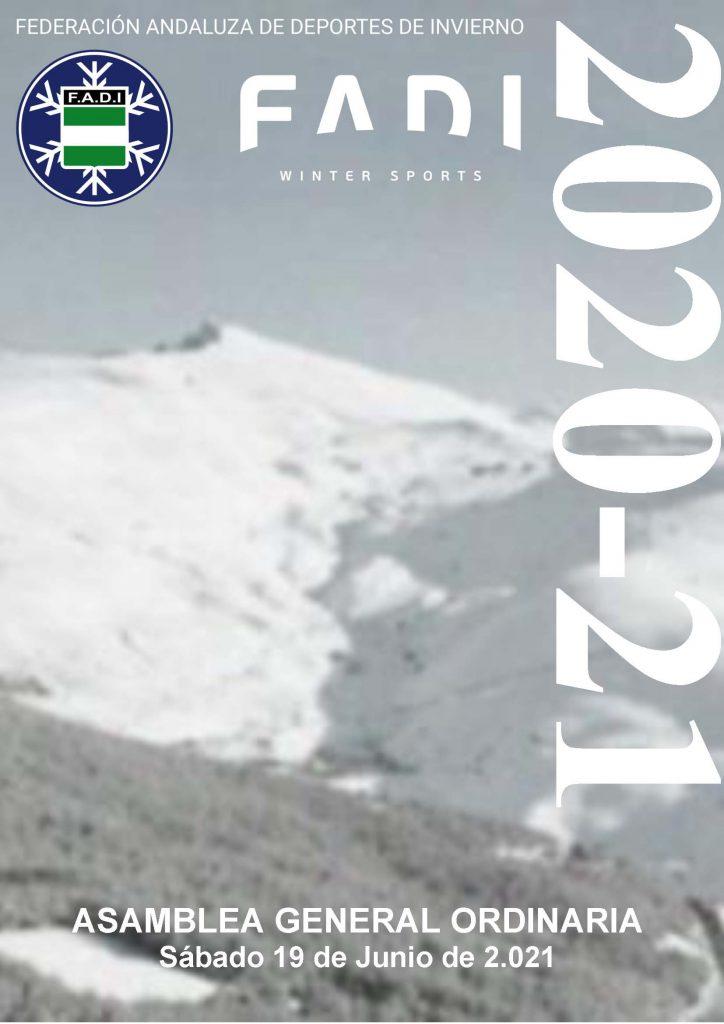 El pasado sábado, la Federación Andaluza de Deportes de Invierno celebró la reunión anual ordinaria de su Asamblea General