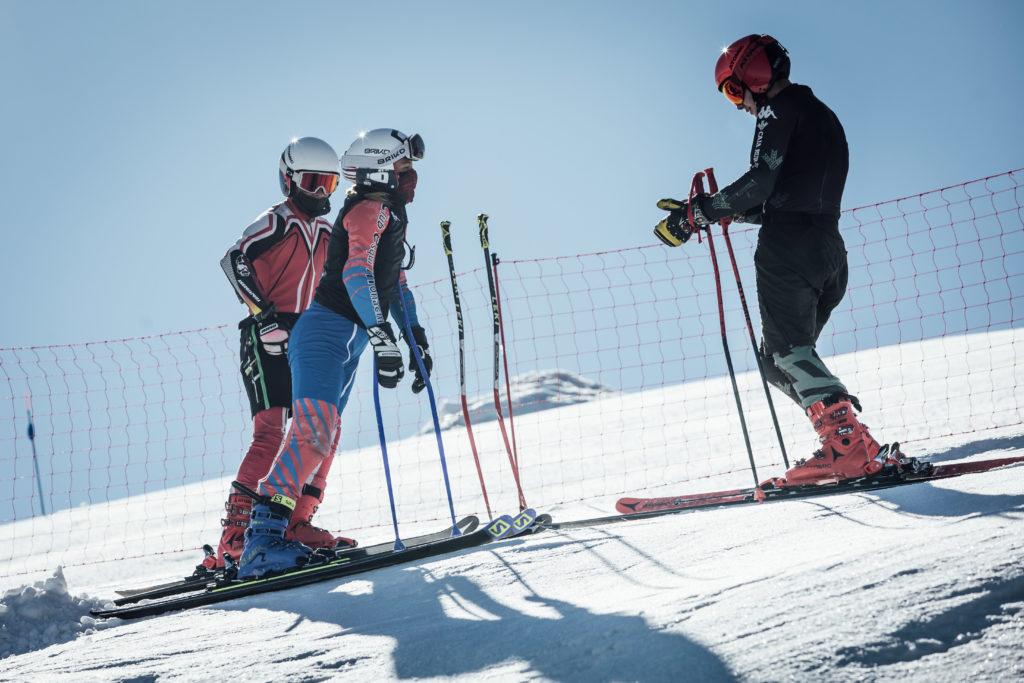 El deporte de invierno andaluz vuelve al trabajo