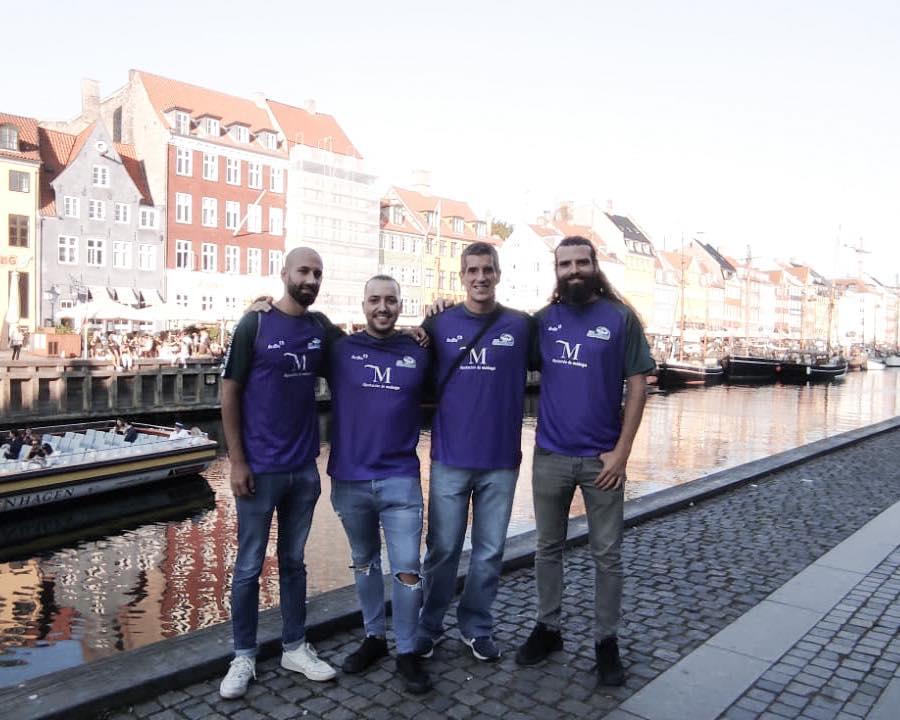 Los Compadres Curling Club Málaga inician la temporada en Copenague