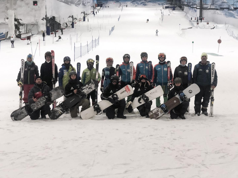 Buenas sensaciones en Madrid Snowzone donde los grupos del #CEEDA, PP. EDA y CETDI han entrenado durante la pasada semana.