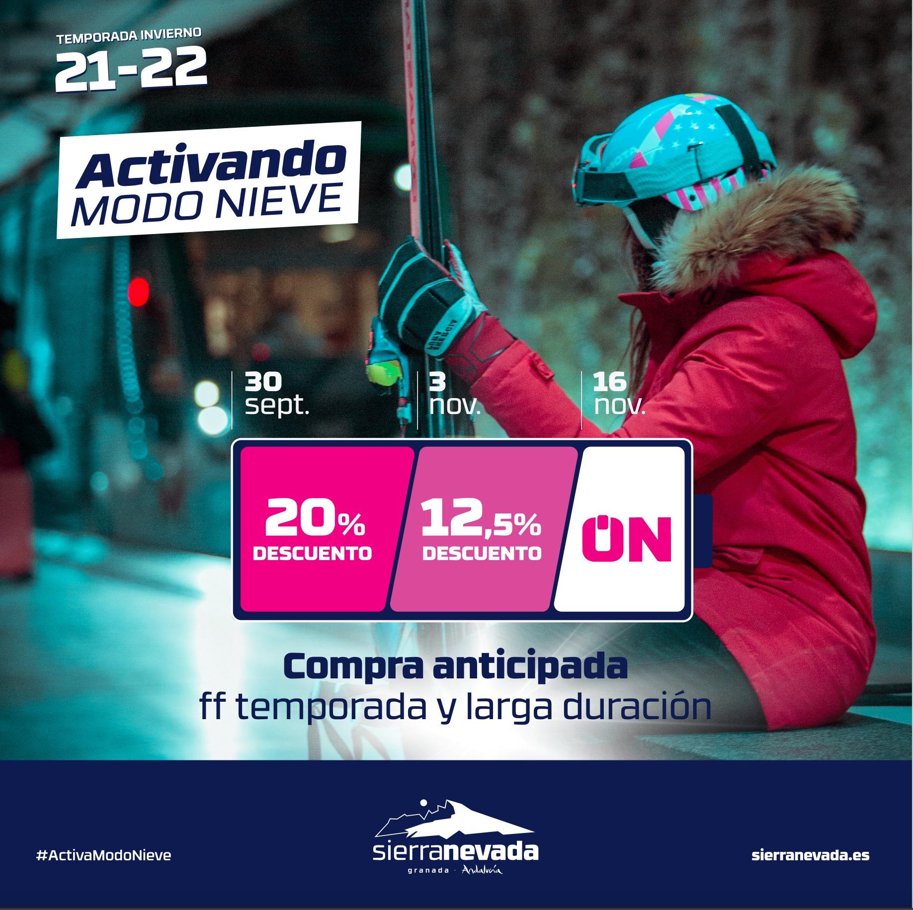 !Activando modo nieve¡ Campaña de compra anticipada de forfaits