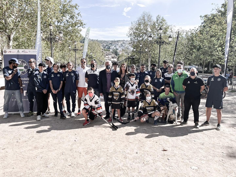 Magnífica jornada de puertas abiertas en Granada para acercar los deportes de invierno a los ciudadanos.