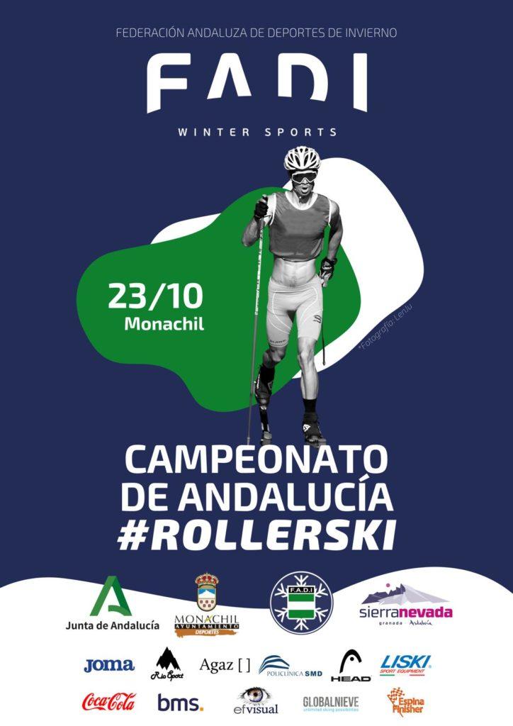 Próxima cita para el #rollerski 🔜 23 de octubre en Monachil (Granada) CAMPEONATO DE ANDALUCÍA